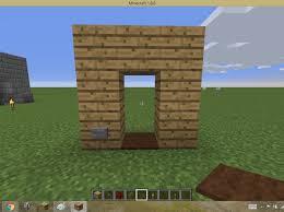 minecraft door. How To Make Invisible Door In Minecraft Pc U