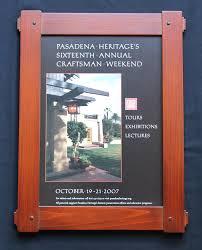 craftsman picture frame plans