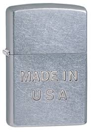 Купить <b>Зажигалка ZIPPO</b> Made in <b>USA</b> Street Chrome 28491 ...