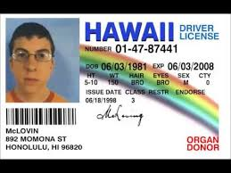 Youtube Mclovin- Superbad; Hour Yeah Id - 1 Fake Chicka