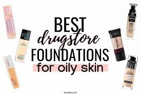 10 best foundations for oily