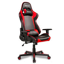 office leather chair. Merax Office Chair Executive Racing Gaming Swivel PU Leather With Wide Armrests (black I