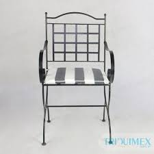 gh 145 aesthetic wrought iron chair from triex