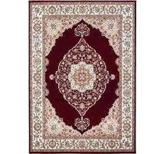 bazaar red ivory 8 ft x area rug home rugs n dynamix catalina furniture donation