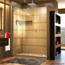 mirage x sliding shower door dreamline frameless enclosures to