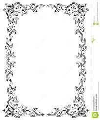 filigree frame clipart