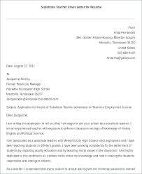 Teaching Resume Cover Letter Middle School Teacher Cover Teacher