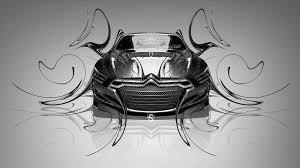 citroen metropolis fantasy metal plastic car