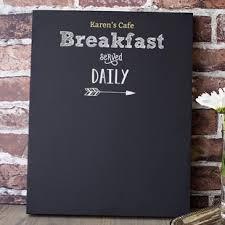 Chalk Board Menu Board Personalized Breakfast Menu Chalkboard