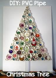 DIY: PVC Pipe Christmas Tree