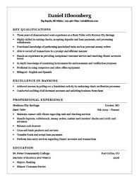 Resume Objective For Bank Teller Best of Sample Resume Cashier Tierbrianhenryco