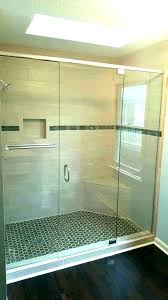 how to install glass shower door a replacement cost replace handle on tub gl