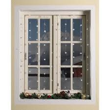 Schneeflocken Vorhang 150x90 Fenster Weiß