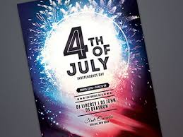 Fourth Of July Flyer By Stylewish Dribbble Dribbble