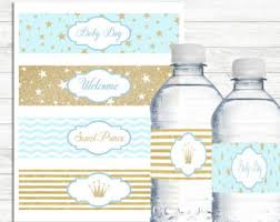 Decorating Water Bottles For Baby Shower Lavender Grey Baby Shower Water Bottle Labels Printable 62