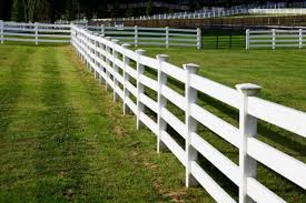 Farm fence Backyard Credit Thinkstock Stable Management Horse Farm Fencing Choices Design And Construction The 1