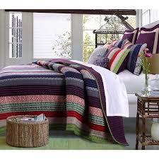 360 best Beautiful Bedding images on Pinterest   3 piece, Bedding ... & Greenland Home Fashions Marley Oversized Cotton 3-piece Quilt Set Adamdwight.com