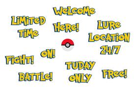 Pokemon GO Font | Pokemon, Pokemon font, Pokemon go