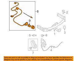 audi q5 trailer wiring diagram audi image wiring audi oem 09 12 q5 trailer hitch rear bumper wire harness on audi q5 trailer wiring