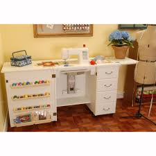 Tailormade Sewing Cabinet Arrow Norma Jean Model 351 Sewing Cabinet In White Sewing
