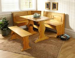 kitchen nook furniture. Home Kitchen Nook Wooden Dining Breakfast Set Table Bench Chair Wood Furniture R