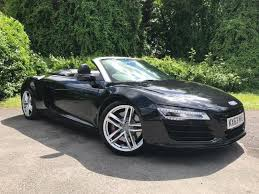 audi r8 convertible black.  Convertible 2013 Audi R8 42 FSI V8 Spyder S Tronic Quattro 2dr CONVERTIBLE In BLACK With Convertible Black R
