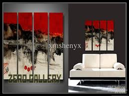 2018 hand painted high quality abstract red black white oil painting canvas wall art home decor decoracion pintura oleo art work 40032 from xmshenyx  on wall art black white and red with 2018 hand painted high quality abstract red black white oil painting