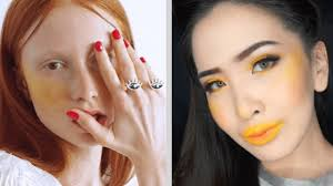 yellow blush is the latest makeup trend we don t understand
