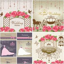 122 best wedding invitations, cards, backgrounds images on Wedding Invitation Postcard Vector wedding wishes cards with horse carriage, beautiful dress, flowers and decorations, postcards with vector and psd - wedding invitation postcard