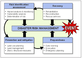 no  disaster risk management and its components