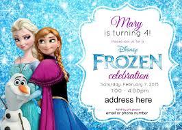 Frozen Birthday Invitations Frozen Party Invitations Granizmondal Com