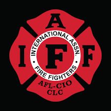 535 iaff logo embroidery
