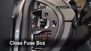 interior fuse box location 1998 2004 audi a6 2004 audi a6 3 0l v6