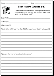 Writing Practice Worksheet Book Report 5 6 Writing Practice Worksheet For And Grade