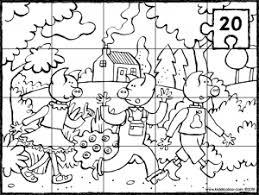 Kleurplaten Hans En Grietje Sprookje Die 3 Kleinen Schweinchen