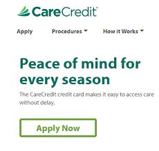 Choose 0% apr offers for good/excellent credit. Care Credit Card Login Carecredit Com Apply For A Carecredit Credit