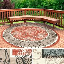 round outdoor rug area rugs at patio clearance
