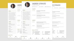 Clean Cv Resume Template Design In Photoshop Free Psd File