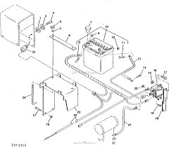 John deere parts diagrams john deere battery battery support