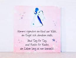 Holzbild Mit Sprüchen Zur Geburt Rosa Mädchenkommt Irgendwo Ein