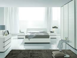 modern bedroom white.  White Contemporary Modern Bedroom Furniture Chocolate Finish Wood Bed Framed Cute  Brown Fur Rug Striped Pattern Theme To White O