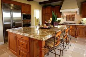 kitchen flooring ideas with oak cabinets. oak kitchen cabinets with granite countertops flooring ideas