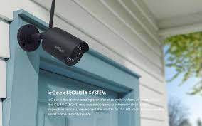 Camera giám sát an ninh ngoài trời WiFi IEGEEK chống nước 1080P Tặng t –  LINHKIENAMAZON.COM