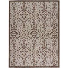 country side natural 10 ft x 13 ft indoor outdoor area rug