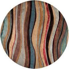 edgar mushroom new 8 ft x 8 ft round area rug