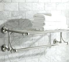Restoration Hardware Towel Bars Bistro Double Bar Mercer Train Rack