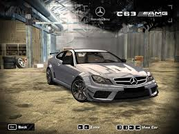 Need For Speed Most Wanted Mercedes Benz C63 AMG Black Series ...