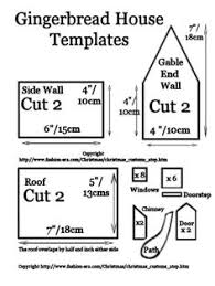 Gingerbread House Patterns Inspiration Free Printable Gingerbread House Patterns Recipes And Templates