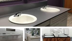 cons of wood and fiberglass vanity tops