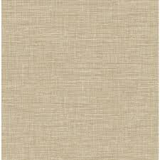 brewster wallcovering solstice 56 4 sq ft taupe non woven grasscloth wallpaper